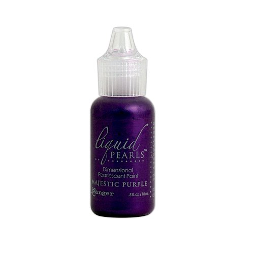 Ranger Ink - Liquid Pearls - Dimensional Paint - Majestic Purple