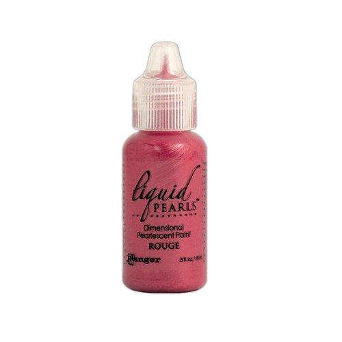 Ranger Ink - Liquid Pearls - Dimensional Paint - Rouge