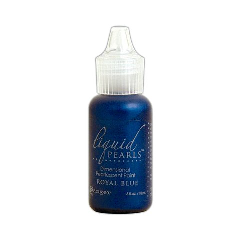 Ranger Ink - Liquid Pearls - Dimensional Paint - Royal Blue