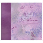 MBI - 12 x 12 Post Bound Album - 20 Top Loading Pages - Memories
