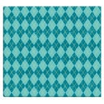 MBI - 12 x 12 Post Bound Album - 20 Top Loading Pages - Argyle - Blue Raspberry