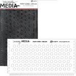 Ranger Ink - Dina Wakley Media - Large Paint Combs - Circles
