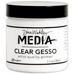 Ranger Ink - Dina Wakley Media - Gesso - Clear - 4 Ounce Jar