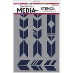 Ranger Ink - Dina Wakley Media - Stencils - Grande Arrows