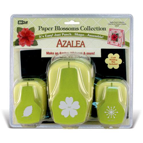 McGill - Paper Blossoms Collection - Paper Punch Set - Azalea