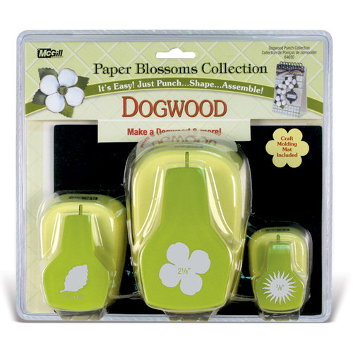 McGill - Paper Blossoms Collection - Paper Punch Set - Dogwood