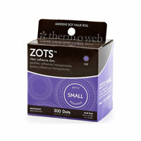 Therm O Web - Zots - Clear Adhesive Dots - Small - 300 Dots