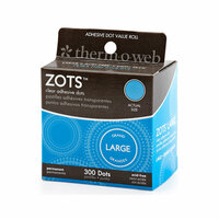 Therm O Web - Zots - Clear Adhesive Dots - Large - 300 Dots