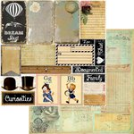 Marion Smith Designs - Nirvana Collection - 12 x 12 Double Sided Paper - Documented