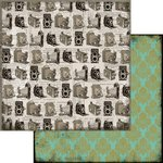Marion Smith Designs - Nirvana Collection - 12 x 12 Double Sided Paper - Photo Op