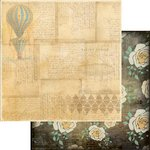 Marion Smith Designs - Nirvana Collection - 12 x 12 Double Sided Paper - Up and Away