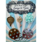 Marion Smith Designs - Junque and Gems Collection - Geared Up