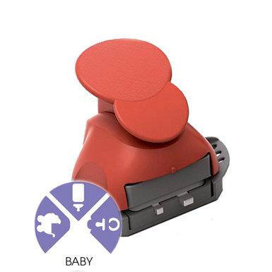 Marvy Uchida - Clever Lever Craft Punch - Tri-Corner - 3 in 1 - Baby