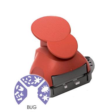 Marvy Uchida - Clever Lever Craft Punch - Tri-Corner - 3 in 1 - Bugs