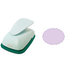 Marvy Uchida - Clever Lever Craft Punch - Extra Giga - Scalloped Oval - 3.5 Inches