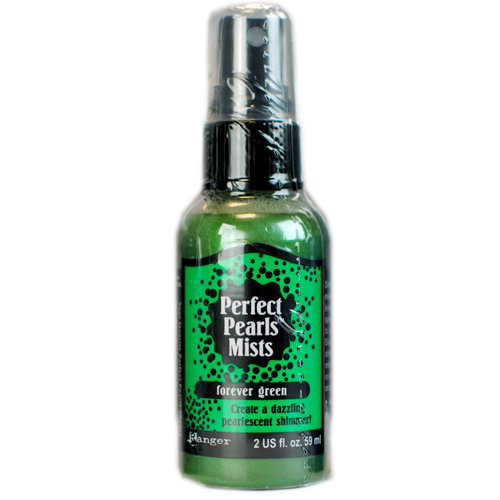Ranger Ink - Perfect Pearls Mist - 2 Ounce Bottle - Forever Green