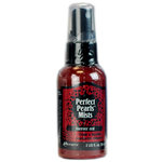 Ranger Ink - Perfect Pearls Mist - 2 Ounce Bottle - Forever Red