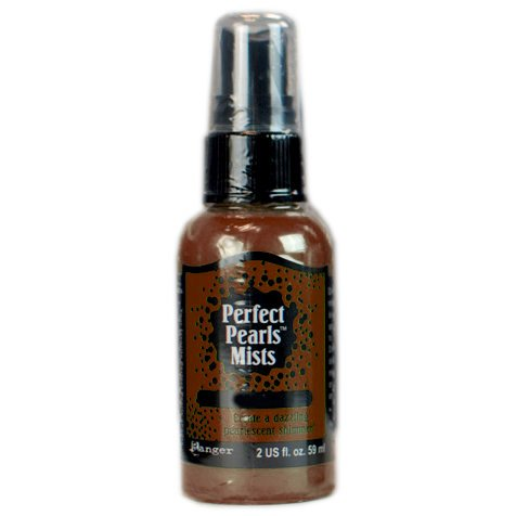 Ranger Ink - Perfect Pearls Mist - 2 Ounce Bottle - Cappuccino