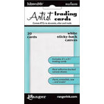 Ranger Ink - Inkssentials - Sticky-Back Canvas - Artist Trading Cards - White