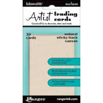 Ranger Ink - Inkssentials - Sticky-Back Canvas - Artist Trading Cards - Natural