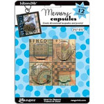 Ranger Ink - Inkssentials - Jewelry - Memory Capsules - 1.5 x 1.5
