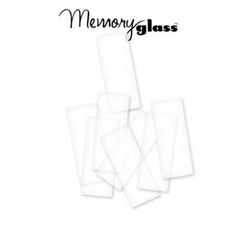 Ranger Ink - Inkssentials - Jewelry - Memory Glass - 1 x 3