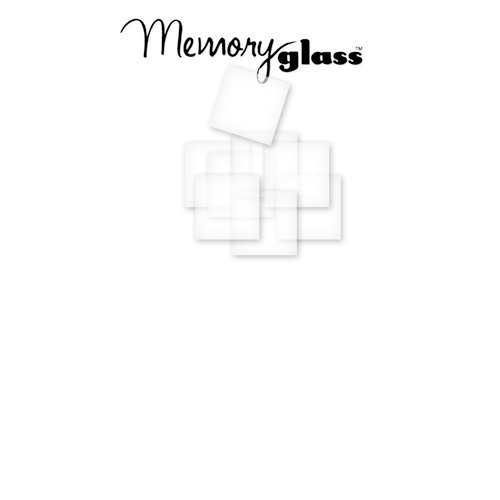 Ranger Ink - Inkssentials - Jewelry - Memory Glass - 1 x 1
