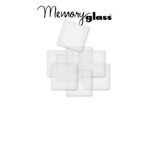Ranger Ink - Inkssentials - Jewelry - Frosted Memory Glass - 1.5 x 1.5