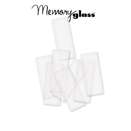 Ranger Ink - Inkssentials - Jewelry - Frosted Memory Glass - 1 x 3