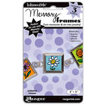 Ranger Ink - Inkssentials - Jewelry - Memory Frames - 1 x 1 - Polish Chrome