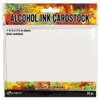 Ranger Ink - Tim Holtz - Adirondack Alcohol Ink Cardstock Pack - 4.25 x 5.5