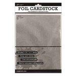Ranger Ink - 8.5 x 11 Cardstock Pack - Silver Foil - 3 Sheets