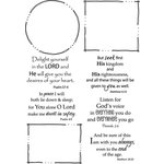 Rubbernecker Stamps - Cling Mounted Rubber Stamp Set - Freehand Scripture