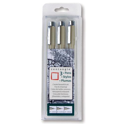 Sakura - Zentangle Pen Set - 3 Pieces