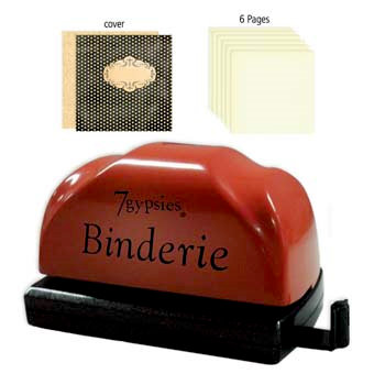7 Gypsies - Binderie Punch with Starter Kit