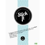 Stick It - Die Cut Adhesive Sheets - Double Sided - Large