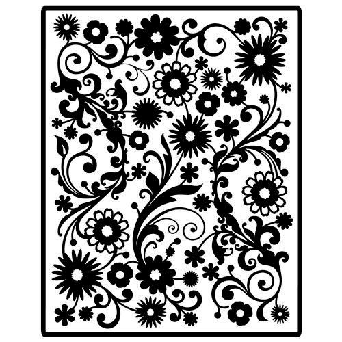 Spellbinders - Impressablilites - Embossing Templates - Flowers