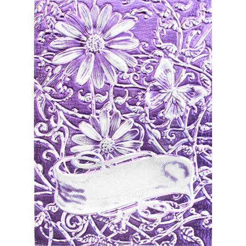 Spellbinders - M-Bossabilities Collection - Embossing Folders - 3-Dimensional - Delightful Daisies