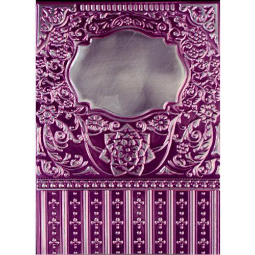 Spellbinders - M-Bossabilities Collection - Embossing Folders - 3-Dimensional - Framed Labels Eighteen