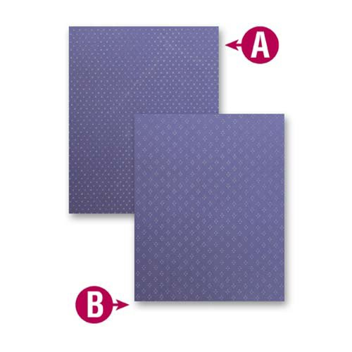 Spellbinders - M-Bossabilities Collection - Embossing Folders - Dainty Dots