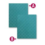 Spellbinders - M-Bossabilities Collection - Embossing Folders - Garden Lattice
