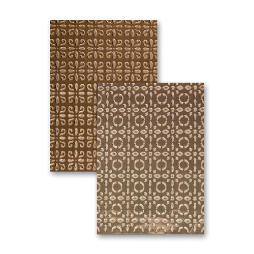 Spellbinders - M-Bossabilities Collection - Embossing Folders - Elite