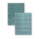 Spellbinders - M-Bossabilities Collection - Embossing Folders - Patchwork