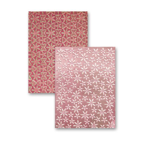 Spellbinders - M-Bossabilities Collection - Embossing Folders - Splendid