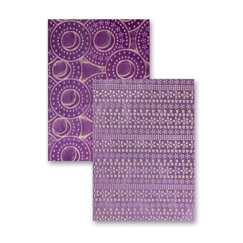Spellbinders - M-Bossabilities Collection - Embossing Folders - Flower Fun
