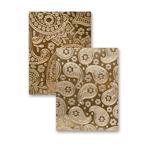 Spellbinders - M-Bossabilities Collection - Embossing Folders - Paisley