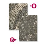 Spellbinders - M-Bossabilities Collection - Embossing Folders - Kickin' Rubber