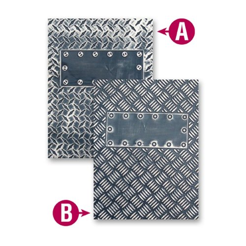 Spellbinders - M-Bossabilities Collection - Embossing Folders - Industrial
