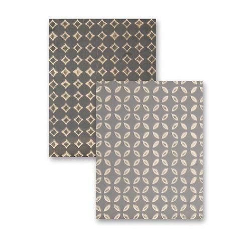 Spellbinders - M-Bossabilities Collection - Embossing Folders - Simplicity