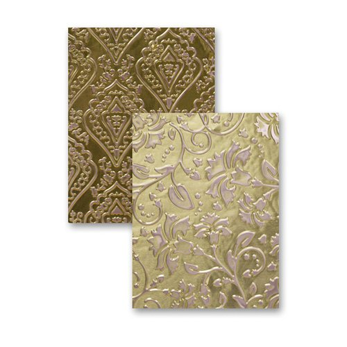 Spellbinders - M-Bossabilities Collection - Embossing Folders - Enchanted
